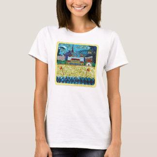 Paillette-Kunst der Kleidungs-| Luna Bondi | T-Shirt