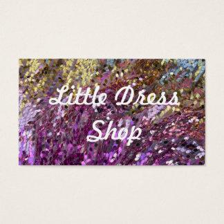 Paillette-Regenbogen-Farbschein-Juwel-Visitenkarte Visitenkarte