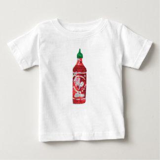 Paillette-scharfe Soße Baby T-shirt