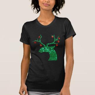 Pailletteweihnachtsren T-Shirt