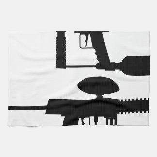 Paintball-Gewehr Küchenhandtücher