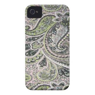 Paisley Blackberry sage rose 9700-9780 audacieux Étui iPhone 4