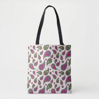 Paisley-Entwurfs-Taschen-Taschen Tasche