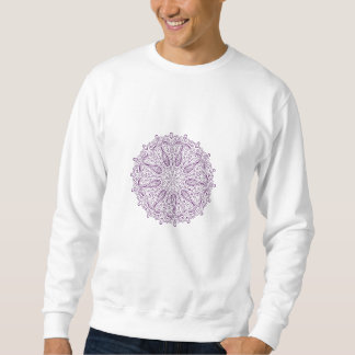 Paisley-Muster-Mandala Sweatshirt