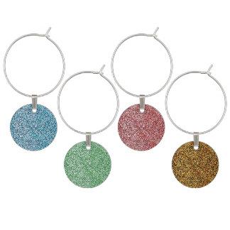 Paisley-Muster Mehrfarben Glasmarker