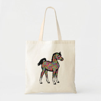 Paisley-Pony-Logo-Tasche Tragetasche
