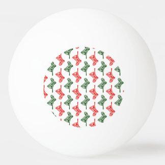 Paisley-WeihnachtsStrümpfe Ping-Pong Ball