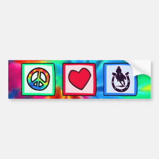 Paix, amour, rodéo