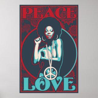 Paix et amour poster