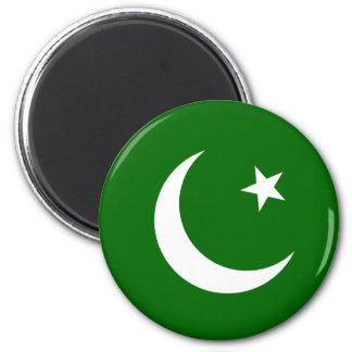 Pakistan Runder Magnet 5,7 Cm