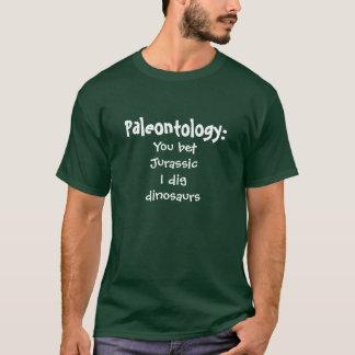 Paläontologie:  Sie wetteten, dass Jura ich T-Shirt