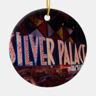 Palast-Kasino-Leuchtreklame 1959 Las Vegass Keramik Ornament