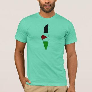 Palästina-Flaggenkarte T-Shirt