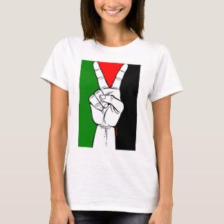 Palästina-Friedensflagge T-Shirt