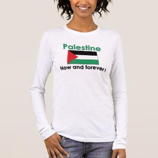 Palästina für immer (Grün) Langarm T-Shirt