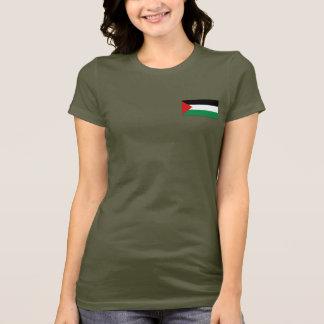 Palästinaflaggen- und -karten-DK-T - Shirt