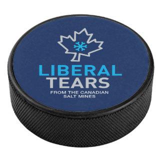 Palet De Hockey Le libéral canadien de galet d'hockey déchire