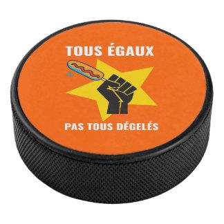 Palet De Hockey Pas tous dégelés de la boite  Humour Québec