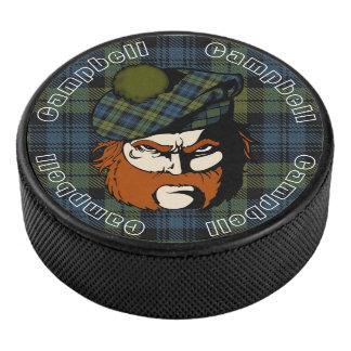 Palet De Hockey Tartan écossais de Campbell de guerrier