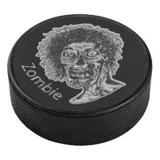 Palet De Hockey Zombi - noir et gris