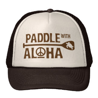 Palette avec Aloha le chapeau de camionneur de Bro Casquettes