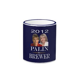 Palin Brauer-Tasse Ringer Tasse