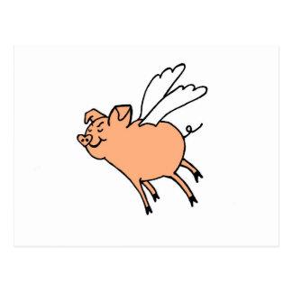 Palingates Fliegenschwein Postkarten