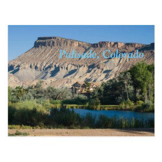 Palisade, Colorado Postkarte