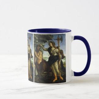 Pallas und der Zentaur durch Sandro Botticelli Tasse