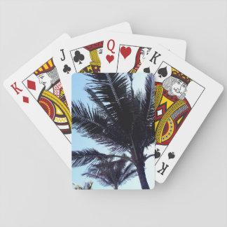 Palm tree spielkarten