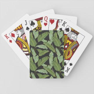 Palmblätter Spielkarten