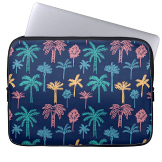 Palme-Blatt-Muster-Neopren-Laptop-Hülse Laptop Sleeve