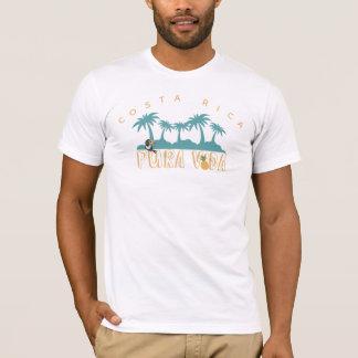 Palme Costa Ricas Pura Vida Toucan Strand T-Shirt