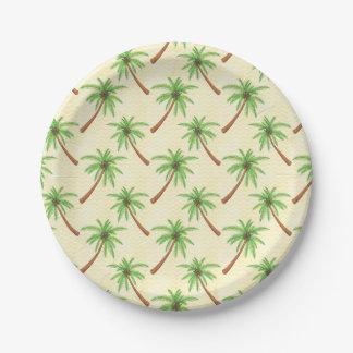 Palme Pappteller