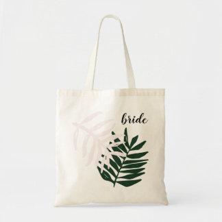 Palmen-Flucht-Taschen-Tasche der Braut-| Tragetasche