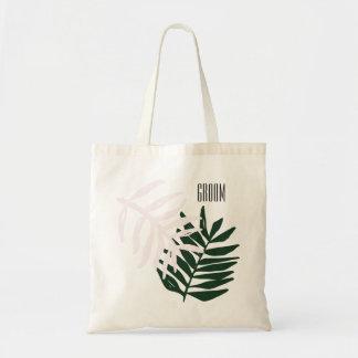Palmen-Flucht-Taschen-Tasche des Bräutigam-| Tragetasche