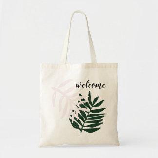 Palmen-Flucht-Taschen-Tasche des Willkommens-| Tragetasche