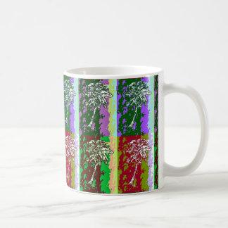 Palmen-Pop-Kunst-Grafik-Tasse Tasse