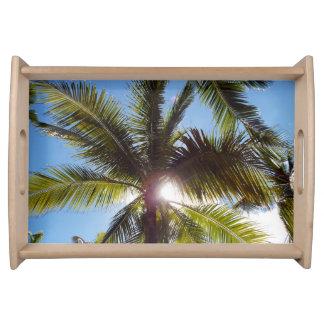 Palmen Tablett