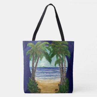 Palmen-Taschen-Tasche Tasche