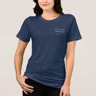 """Palmetto-Baum-""""südliches Mädchen-"""" Logo, T-Shirt"""