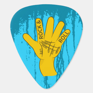 Palmistry-Rock-and-Roll Plektrum