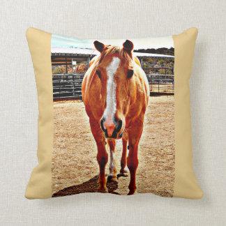 Palomino-Pferdegewohnheits-Kissen Kissen