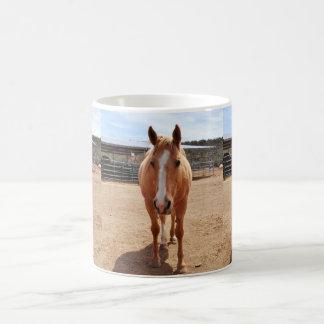 Palomino-Pferdeklassiker-Tasse Kaffeetasse