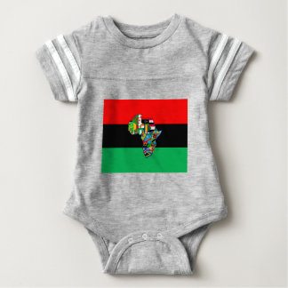 Pan-afrikanisch bin ich mehr als der baby strampler