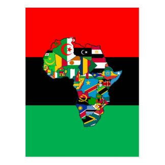 Pan-afrikanisch bin ich mehr als der postkarte