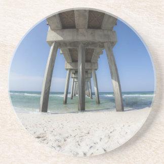 Panama-Stadt Strand-Pier Getränkeuntersetzer