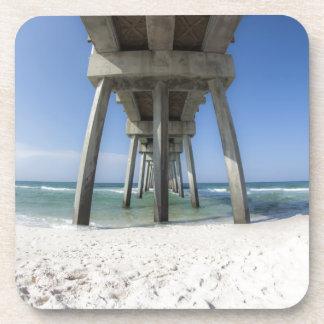 Panama-Stadt Strand-Pier Untersetzer