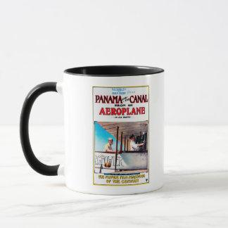 Panama und der Kanal-Flugzeug-Filmpromo-Posten Tasse