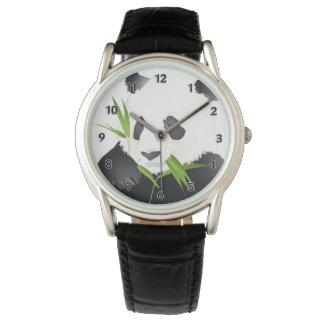 Panda-Bär Armbanduhr